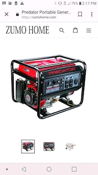 red and black portable generator Los Angeles, 91343