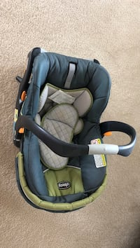baby's gray and black Chicco car seat carrier Mebane, 27302