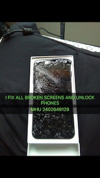 Phone screen repair I fix all broken phones iphone 4,4s,5,5c,5s,6,6+,6s,6sq+,7,7+,8,8+,x and all samsung phones repairs Laurel