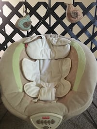 gray and white Fisher-Price cradle and swing Virginia Beach, 23452