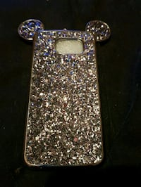 silver and purple glittered s6 case Greater London, TW4 7PL