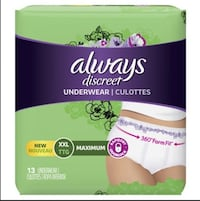 Always Discreet Underwear London