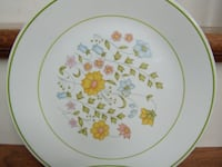 Corelle Spring Meadow Dinner Plates 7) Pieces Good Shape NO Chips Pick-Up in Hagerstown MD. Orchard Hills