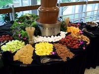 Fruit table with chocolate fountain Palmdale, 93552