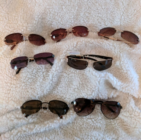7b401b2f12 Used Lot of 7 New with tags Kohl s sunglasses In Garner for sale in Garner  - letgo