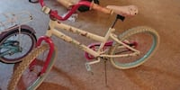 Girls pink and white bicycle Detroit, 48235