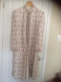 women's white and pink floral dress Mississauga, L5L