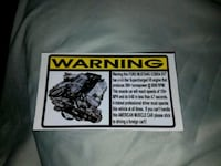 Ford Mustang Cobra SVT Warning Decal Wilmington, 28411