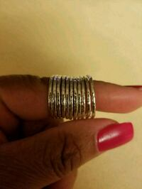 Sterling Silver Single rings size 7 or 8 Laurel, 20707