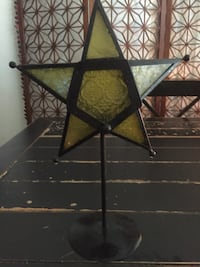 Star Stain Glass candle holder  Bakersfield, 93309