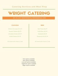Catering Caledon