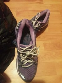 pair of purple-and-white running shoes Mount Pearl, A1N 4V8