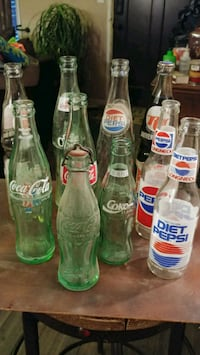 four clear glass bottles with clear glass bottles Lone Jack, 64070