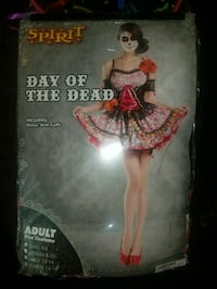 adult Spirit day of the dead costume Phoenix, 85035