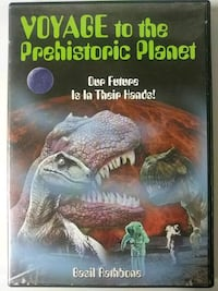 Voyage to the Prehistoric Planet dvd Baltimore