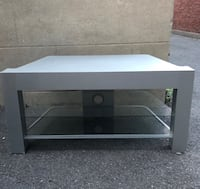 TV Stand - 3 Shelves (2 glass) $35 Westmount, H3Y 3G2