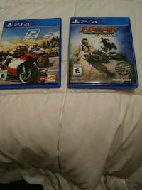 two Sony PS4 game cases Lothian, 20711