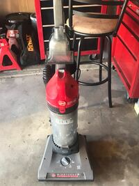 red and black upright vacuum cleaner South Bend, 46614