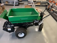 Earth and Turf Powered Top Dresser 60SP Seeding Sterling, 20164