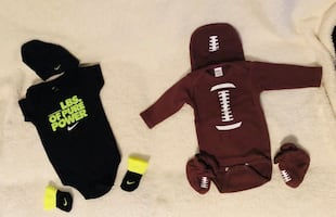 3-6 months- Baby boy outfits with hat and socks l