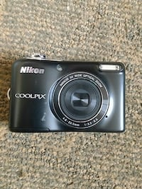 black Nikon Coolpix point and shoot camera Edmonton, T5G