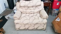 Large chair and 1/2 w/ottoman  Riverside, 92506