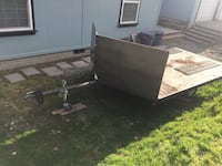 Gray Snow Mobile trailer East Wenatchee, 98802