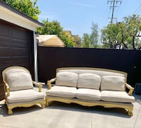 75.00 solid wood comfy couch  Long Beach, 90806