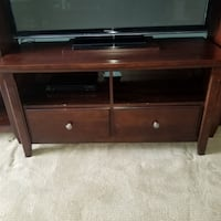 Avington Wood 3 piece Media Center TV and shelves  Ellicott City