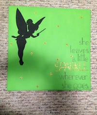 Tinkerbell canvas! The price depends on size of canvas wanted. Ashburn, 20148