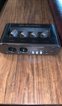 M Audio, two channel interface
