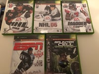 Xbox games video games $2 each Vancouver, V5R 5J4