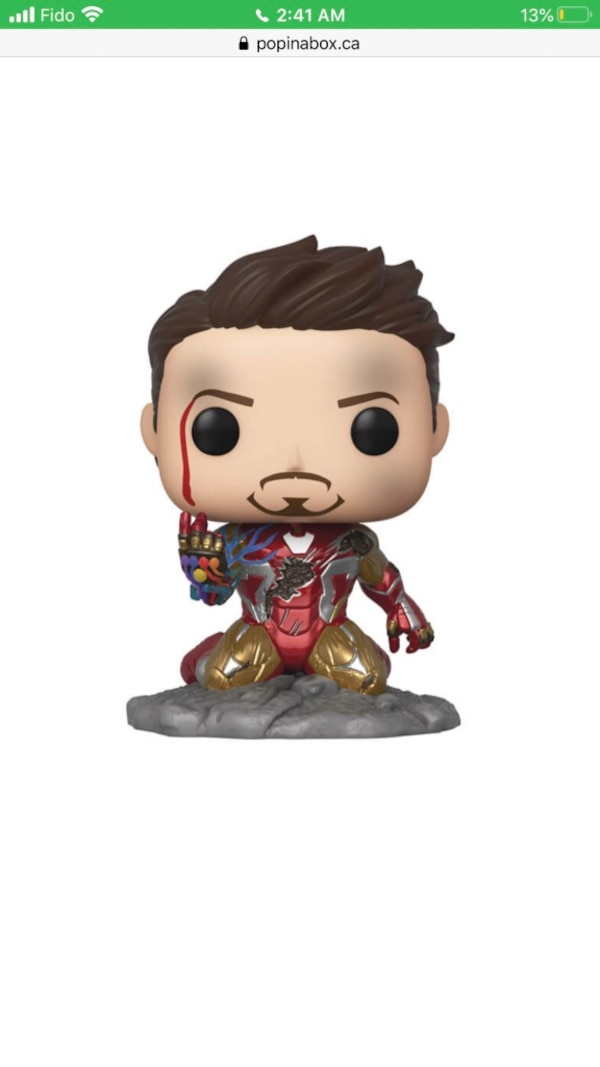 Iron man Funko POP 1