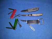 Assorted pocket knifes Lancaster, 93534