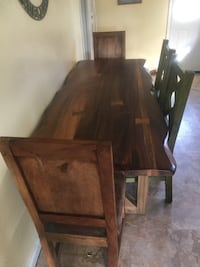 Live edge dining table Metairie, 70005