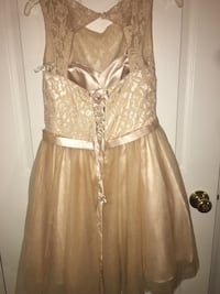 Women's Champagne/Gold Damas Dress null