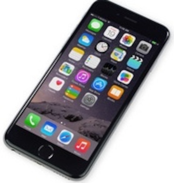 space gray iPhone 6 plus