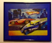Hot Wheels Framed Puzzle 20 x 16  London
