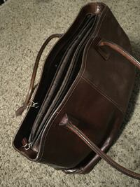 black and brown leather crossbody bag Wichita, 67213