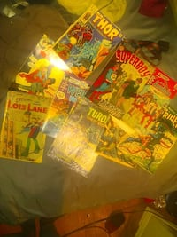 comics 25$ a piece for all 9 of them 200 Houston, 77004