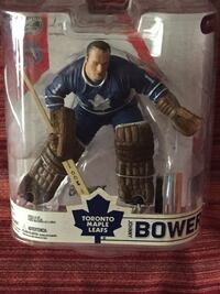 Toronto maple leafs johnny bower vinyl figure pack