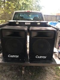 Carvin 822 PA speakers