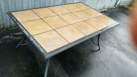 Outdoor tile table Columbus, 43231