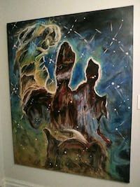 Pillars of creation painting by Sara Bentley Los Angeles, 91411