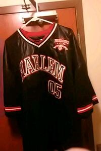 black and red Chicago Bulls 23 jersey shirt Madison, 53715