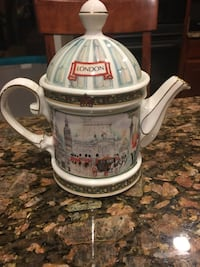 white and red Budweiser ceramic beer stein Alexandria, 22309