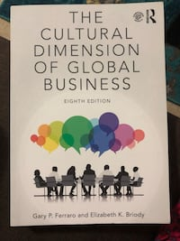 The Cultural Dimension of Global Business 8th Edition Toronto, M2N 4K2