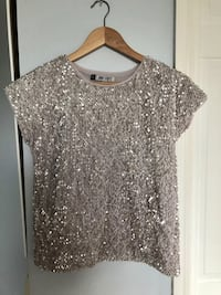 Sparkly top Jlo Collection