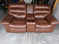 Leather recliner sofa  Indian Trail, 28079