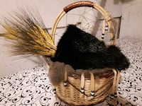 Authentic rabbit fur lined basket Ontario, K1T 1V4